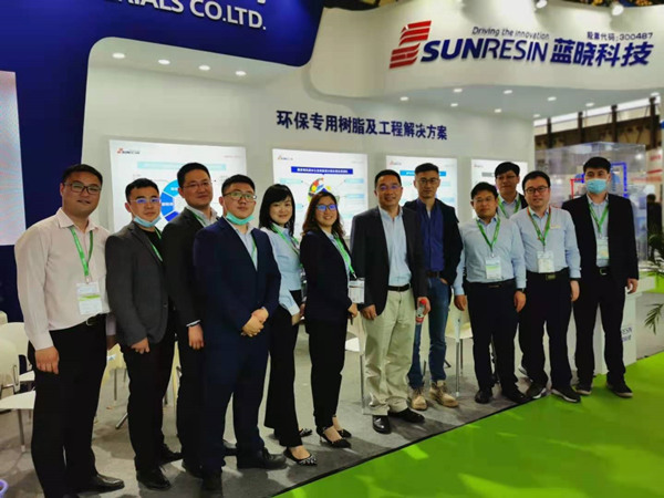 Время SunResin в IE EXPO China 2021